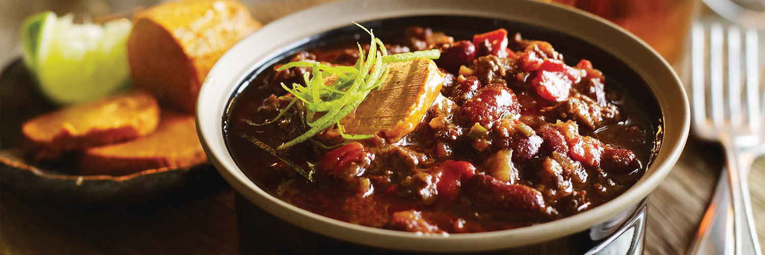 Rich Chilli Con Carne with Spiced Butter