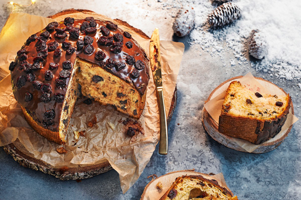 Hestons 1970s Twist On The Panettone By Waitrose Weekend