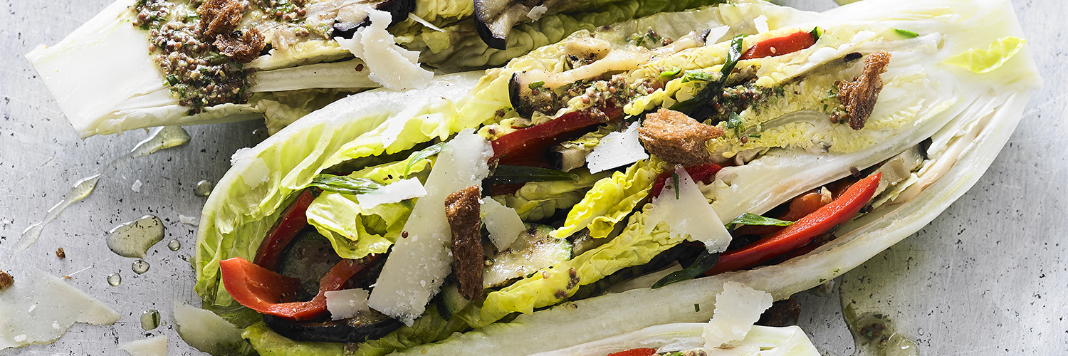 Romano Lettuce Vegetable Wedges