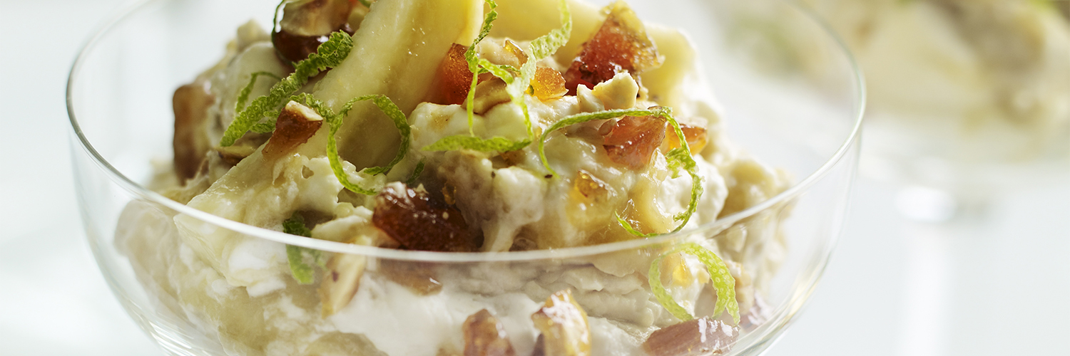 Heston's Banana Eton Mess