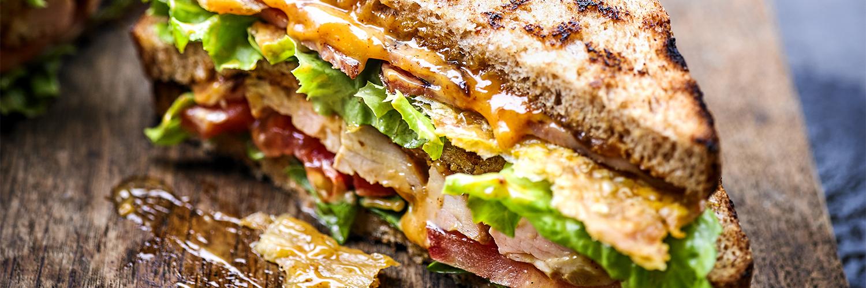 Spicy Chicken Club Sandwich