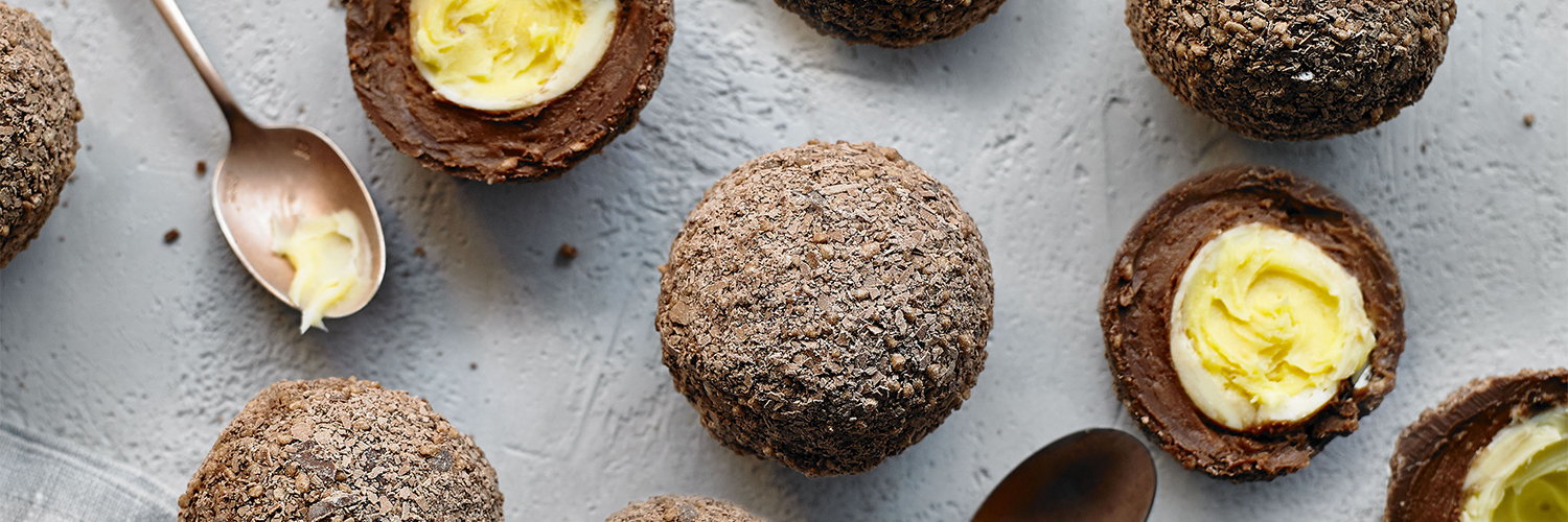 Heston from Waitrose The Chocolate Scotch Egg
