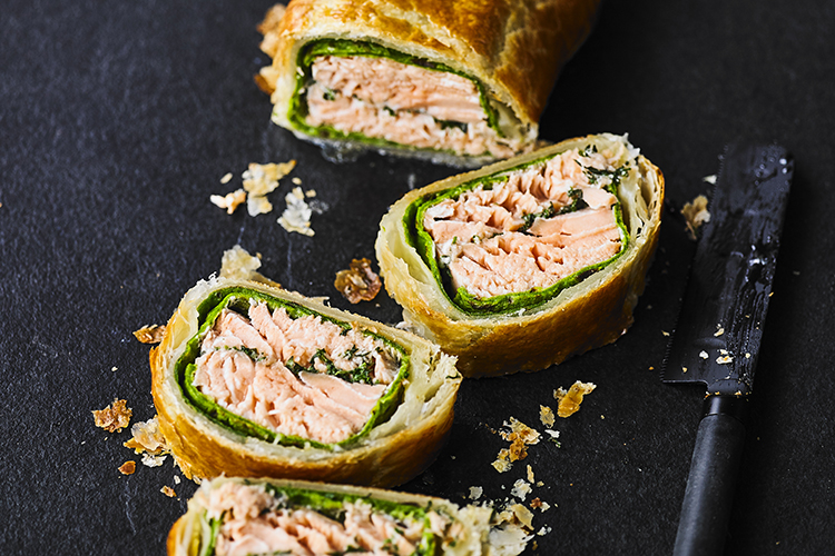 Salmon En Croute The Fat Duck Group