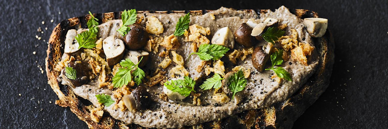 Mushroom Parfait